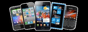 soorten smartphones