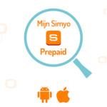 Mijn Simyo app prepaid