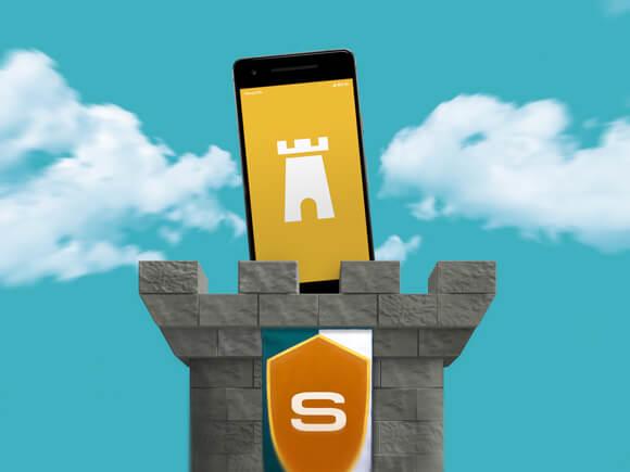 smartphone beschermen fort sim only simyo