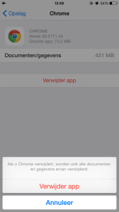 Cache Apple iPhone legen