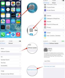 Apple iPhone updaten