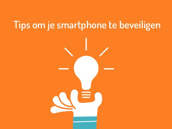 Simyo tips om je smartphone te beveiligen