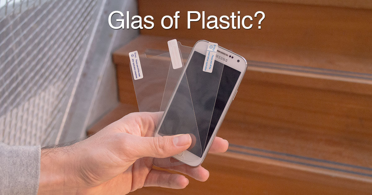 Glas of Plastic?