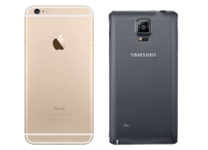 Samsung Gaalxy Note 4 vs Apple iPhone 6 Plus