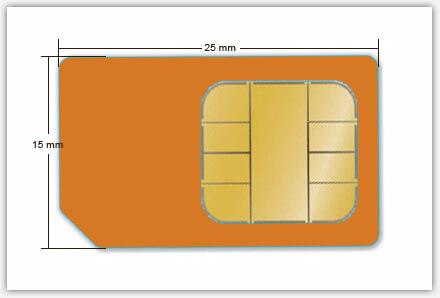 standaard simkaart