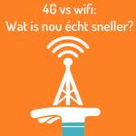 4G vs wifi wat is nou echt sneller Simyo