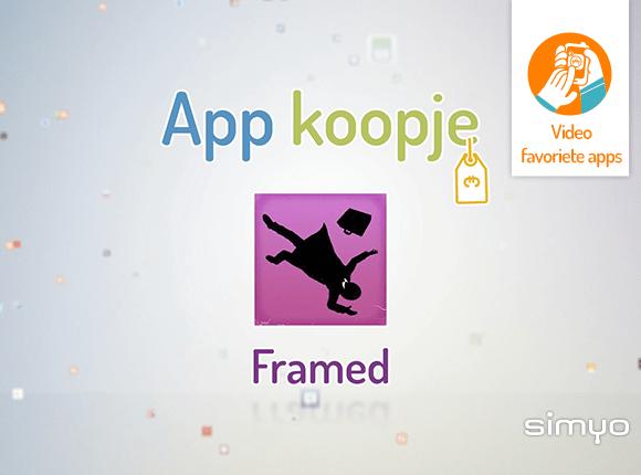 Simyo app Framed