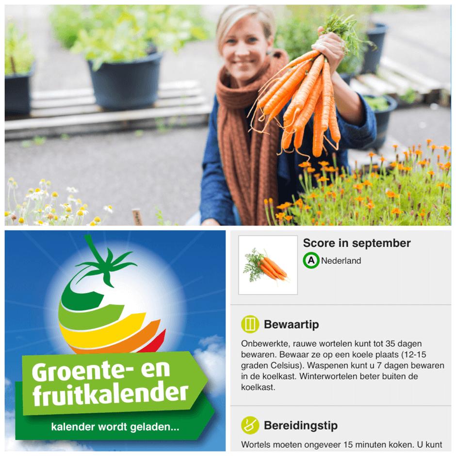 Groente en Fruitkalender