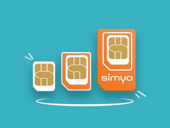 Simyo simkaart visual