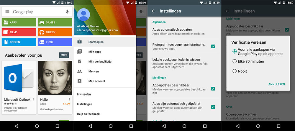 Android - In-app aankopen