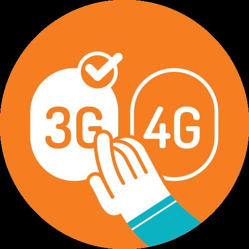3G versus 4G MB's besparen