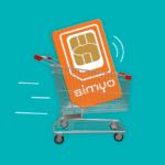 Simyo Sim Only abonnement 3-in-1 NFC-simkaart