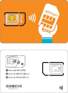 Simyo NFC-simkaart