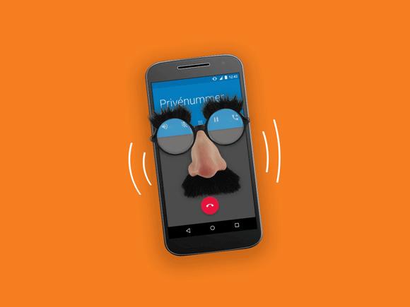 Anoniem bellen
