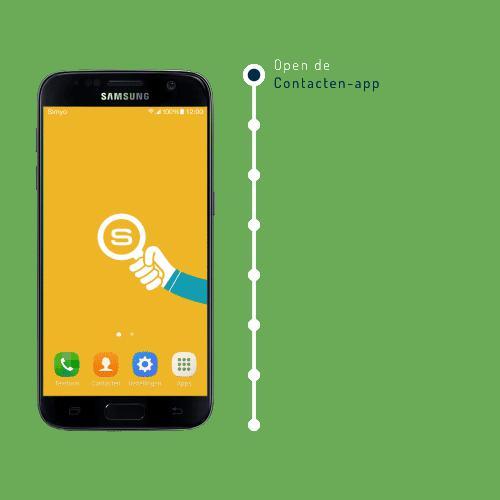 contacten van iphone naar samsung a3