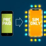 prepaid naar sim only