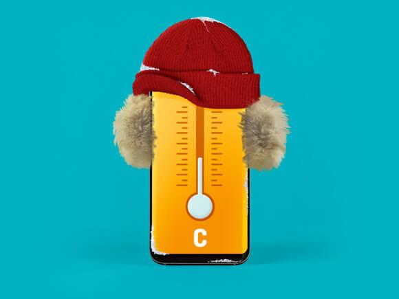 Winteraccessoires smartphone