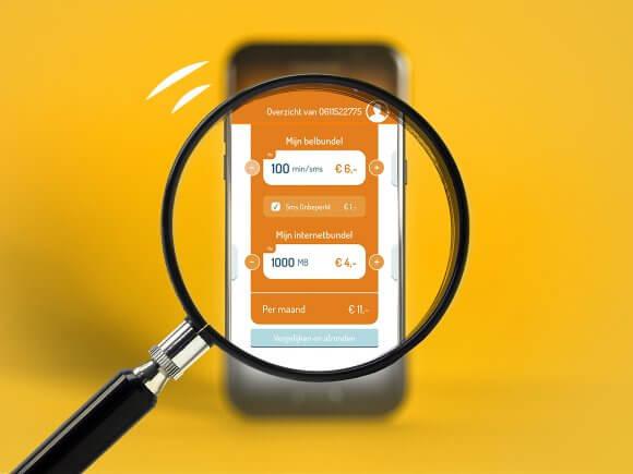 mijn simyo app sim only prepaid