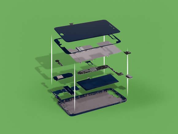telefoon onderdelen verborgen krachten simyo