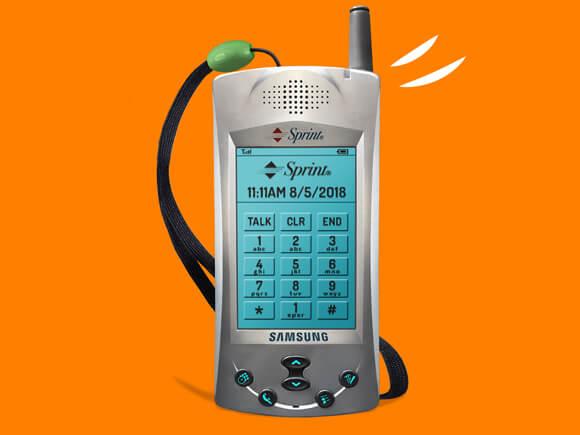 eerste samsung telefoon sph-i300 sim only simyo