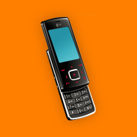 LG KG800 Chocolate iconische lg telefoon sim only simyo