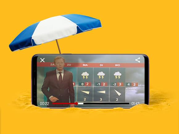 tv kijken in het buitenland dataverbruik streaming apps sim only simyo