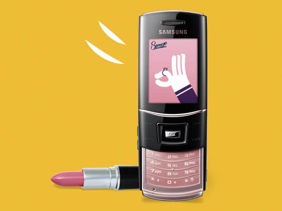 ladyphones gekke telefoons allure sim only simyo