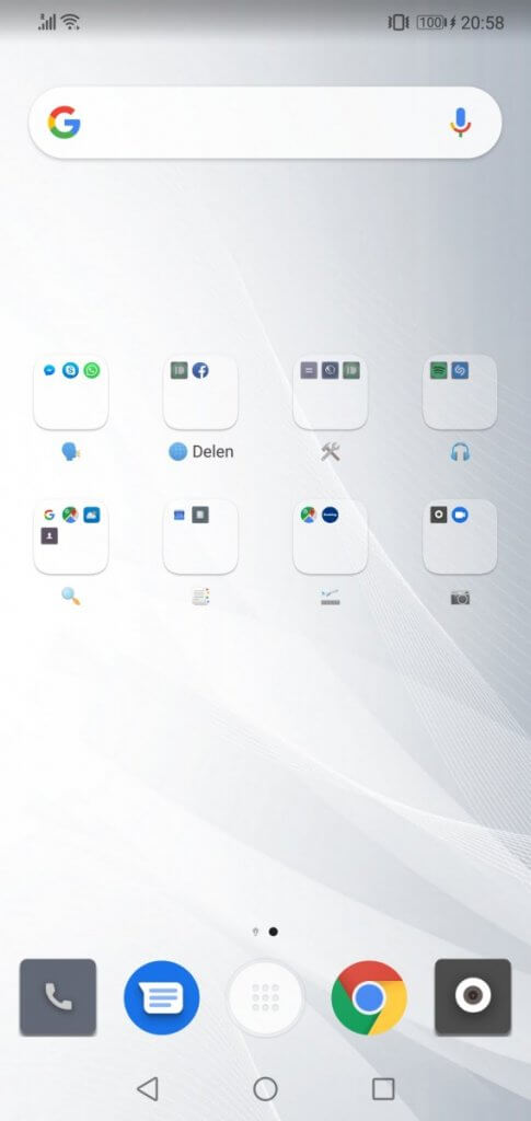 apps sorteren