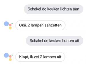 Google Assistent commando's
