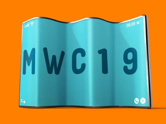 mwc 2019 opvouwbare telefoons