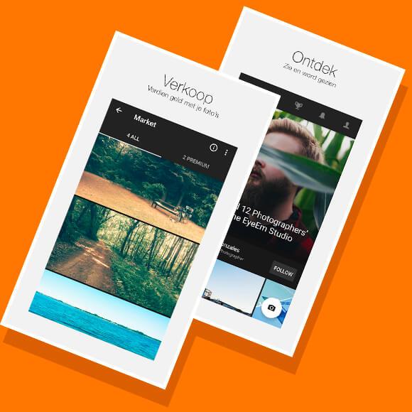 Simyo - Nieuwste Social Apps - EyeEm