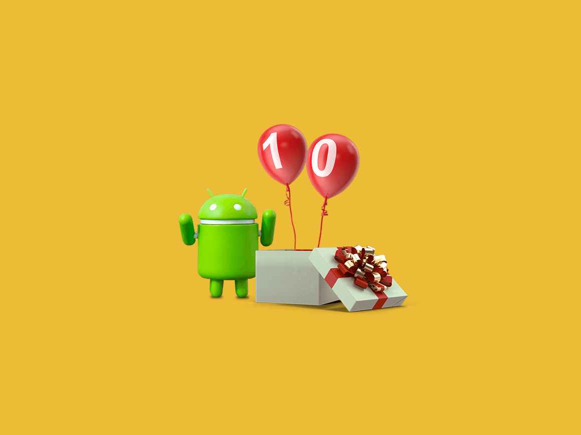 alles over android 10