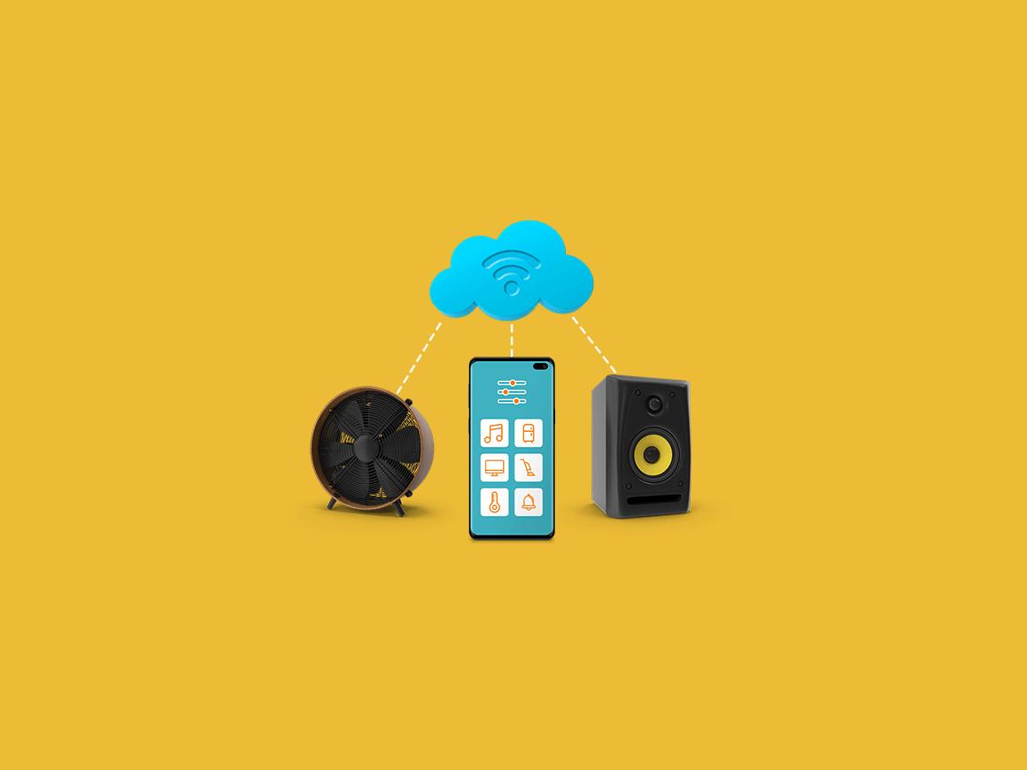 smart home telefoon afstandsbediening huis