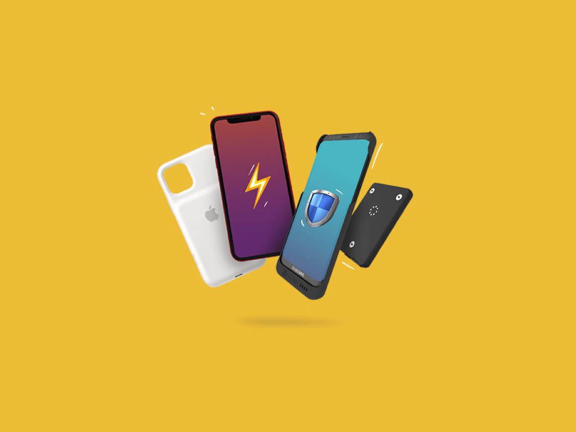 Slimme telefoonhoesjes maken je smartphone nog slimmer