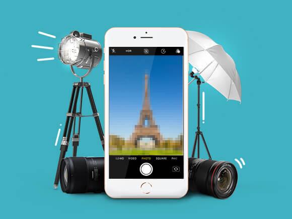 smartphone camera lens upgraden mooie foto's