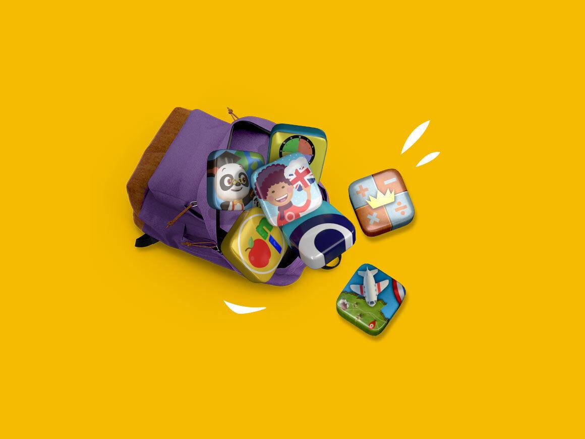 Met deze 7 leerzame apps wordt je kind snel wijzer