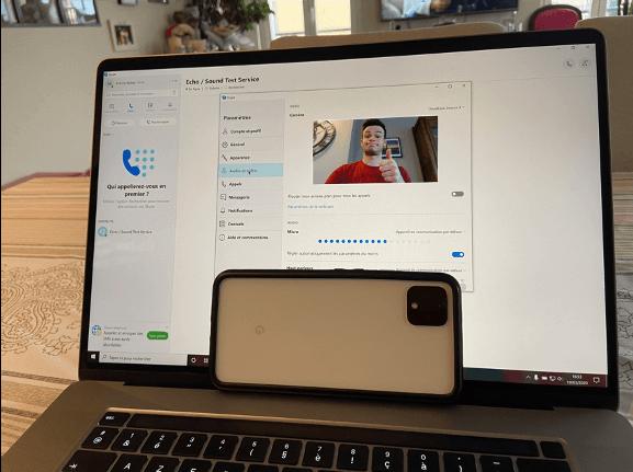 telefoon als webcam