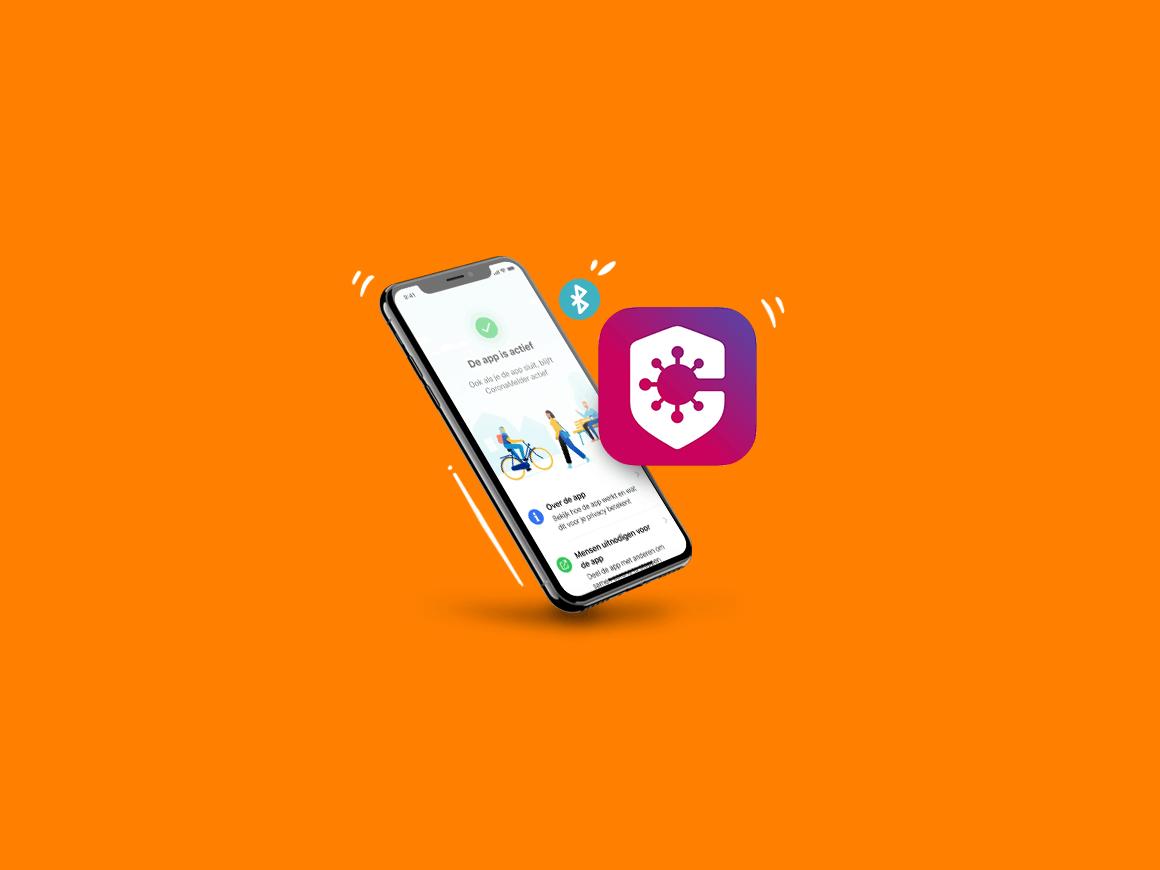 coronamelder corona app