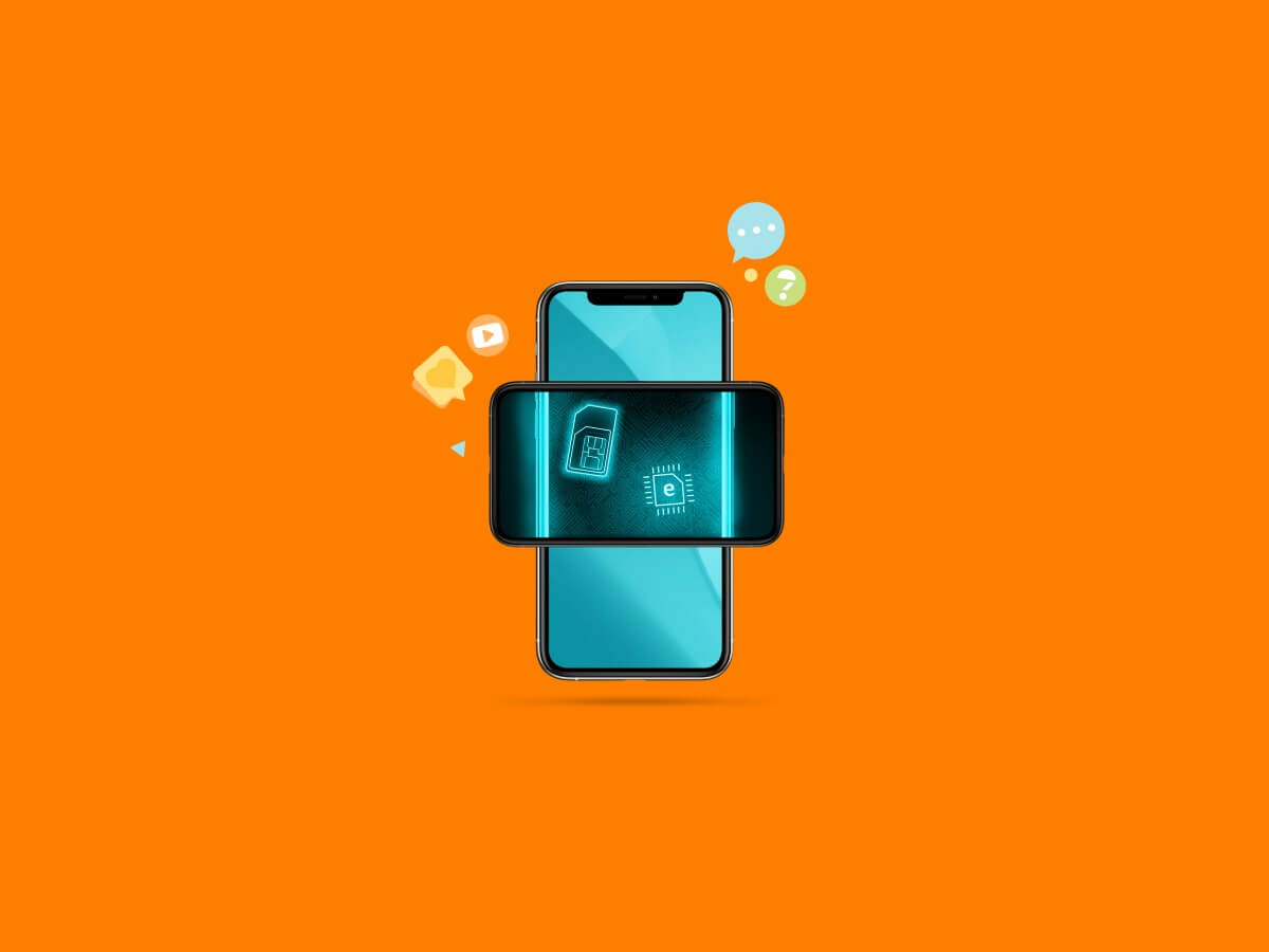 Zo werkt dual sim op verschillende iPhones