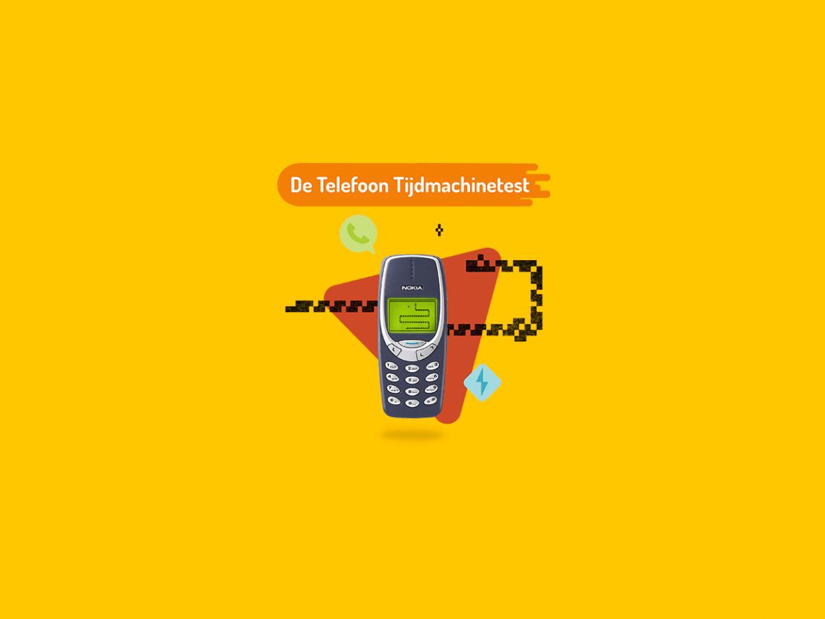 De Telefoon Tijdmachinetest. Wat is de eerste telefoon die jij je kan herinneren?